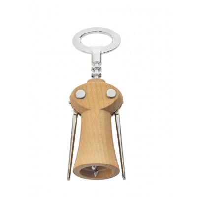Korkenzieher Weinflaschenöffner Merlot | Helles Holz