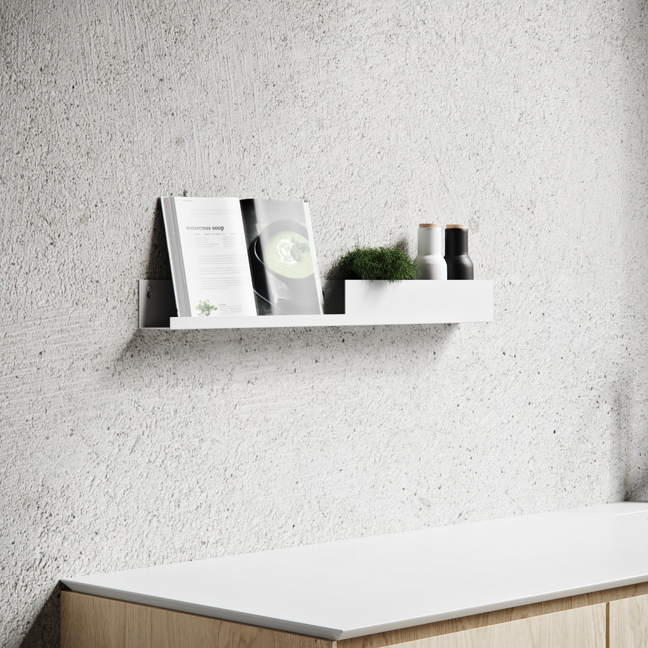Shelf L40 | White