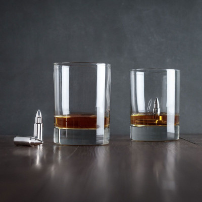 Whisky Bullets | Stainless Steel Ice Cubes