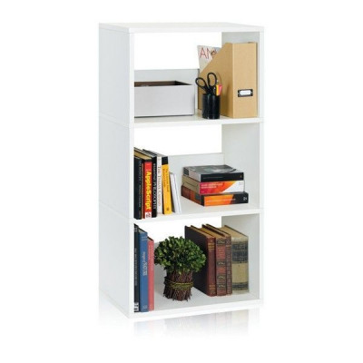 Drillings-Bücherregal | Weiß