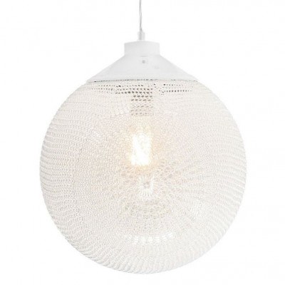 Madame Latoque White   Hanging Lamp