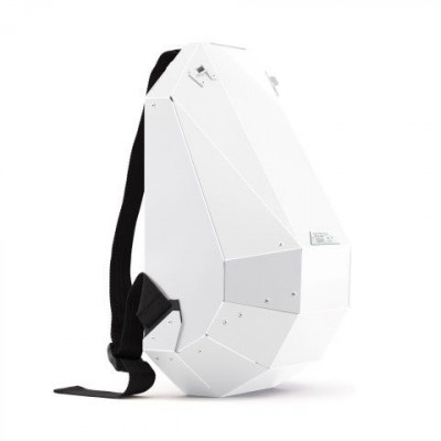 Backpack   Glossy White