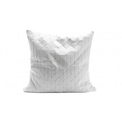 Origami Kissenbezug | Weiß