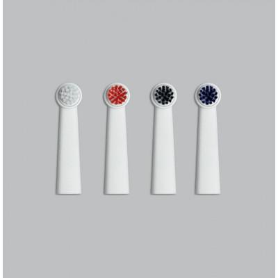 4 Brush Heads   White