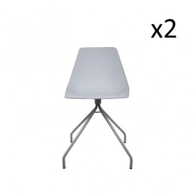 Schreibtischstuhl Spider White   2er-Satz