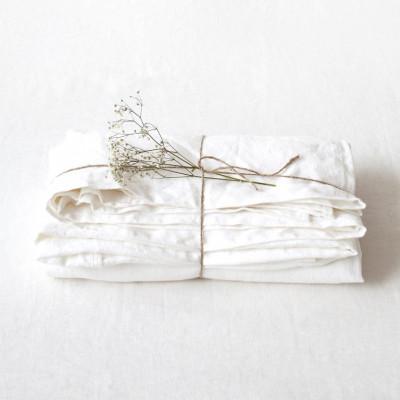 Spannbettlaken   Weiß