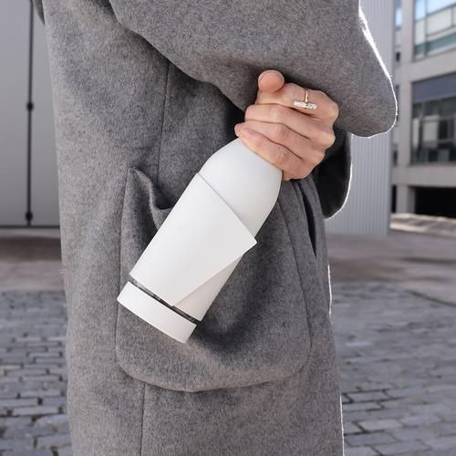Drink Bottle Closca   White/Nude