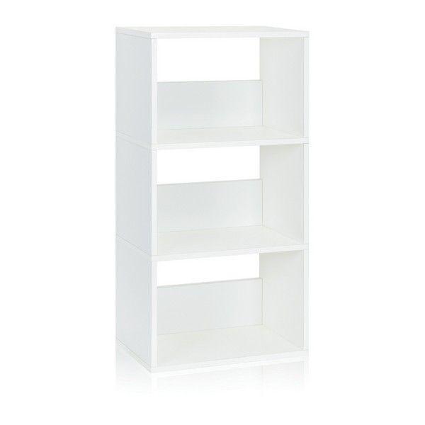 Triplet Bookshelf | White