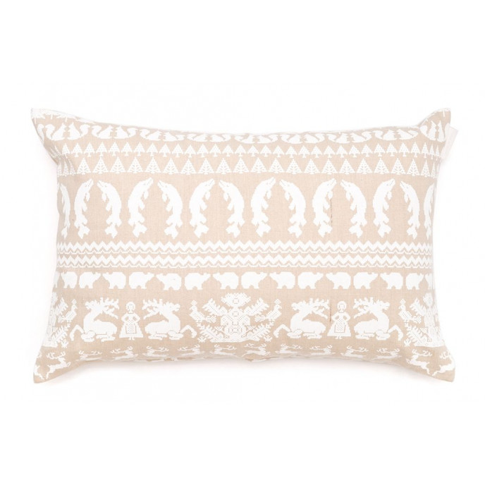 Pillow Beige/White