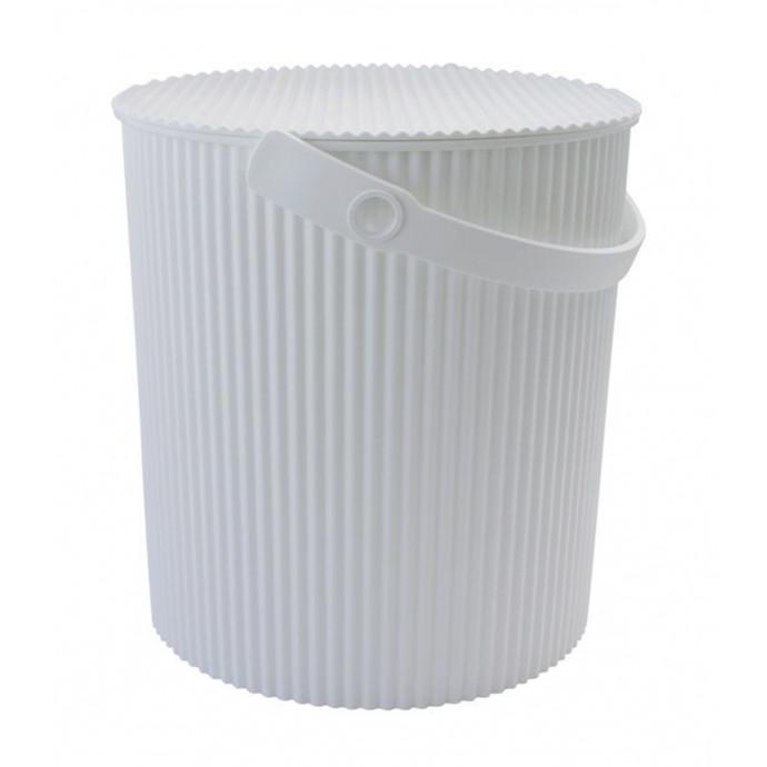 Omnioutil Storage Bucket | White-Small