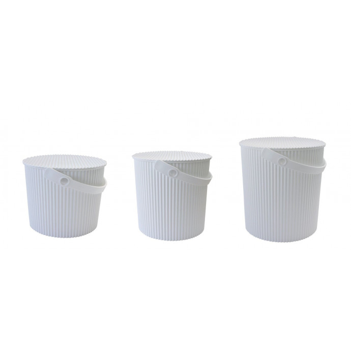 Aufbewahrungskorb Omnioutil | Weiß-Small