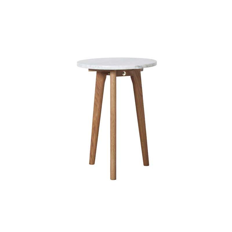 Table avec plateau de marbre