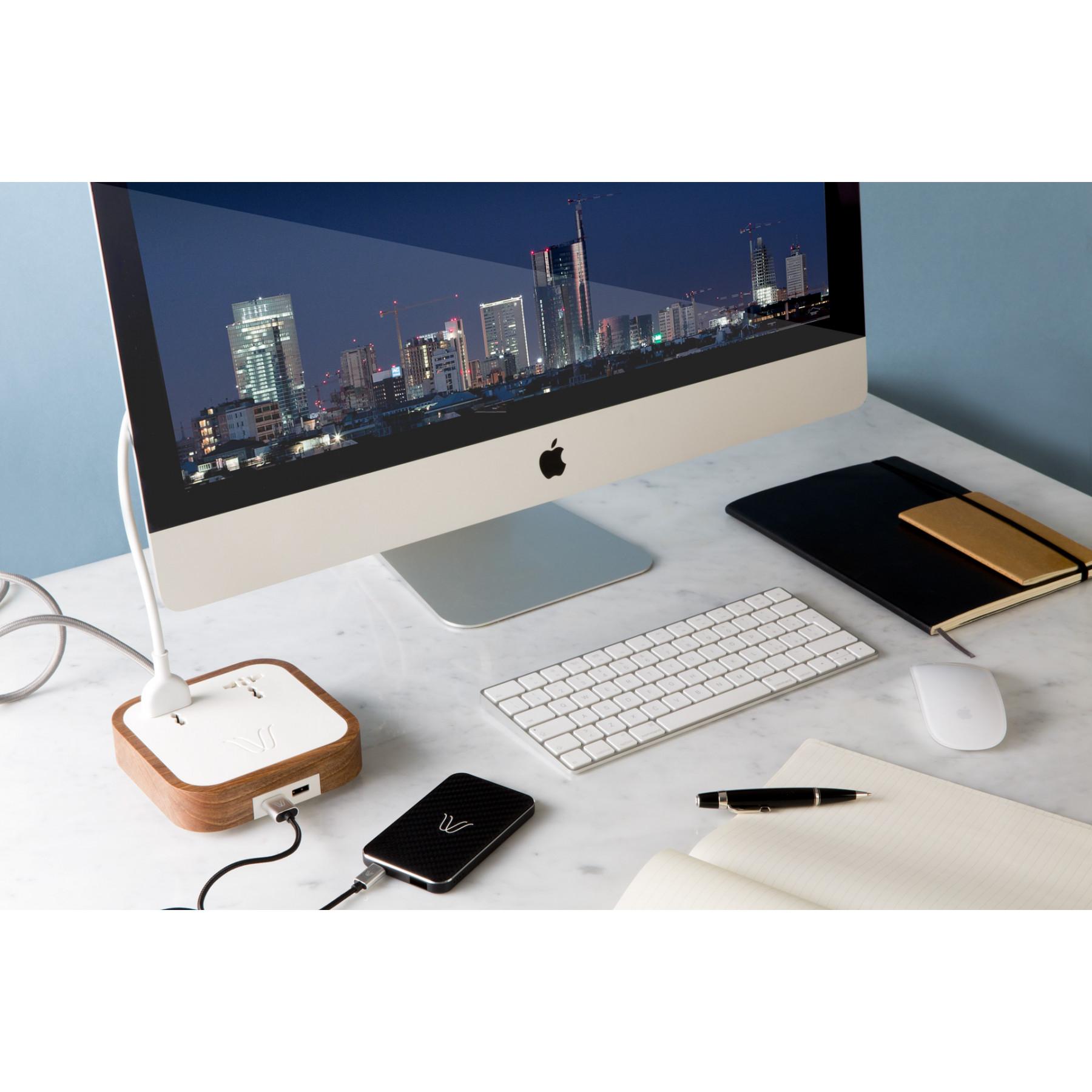 Wireless Powerbank   Teak