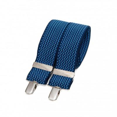 Bertelles   Wide Straps   Blue Micro Design