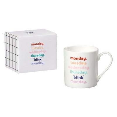 Ceramic Mug | Monday Blink