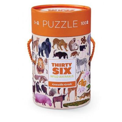 100 Pieces Puzzle | Wild Animals