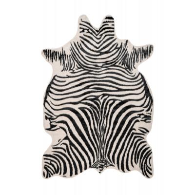 Teppich Wildlife 326 | 200 x 150 cm | Schwarz - Weiß - Braun