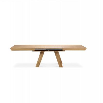 Ausziehbarer Tisch Njal | Eiche
