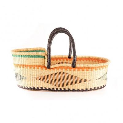 Basket Moses Winneba + Foam Mattress & Cotton Sheet