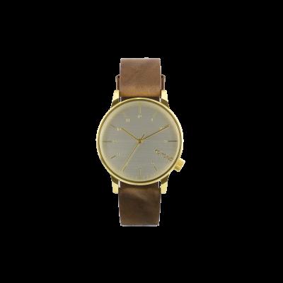 Winston Regal Watch   Saddle Brown
