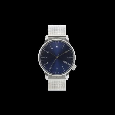 Winston Royale Watch   Silver/Blue