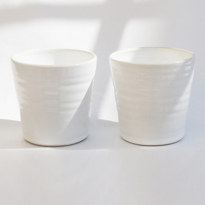 TINA Mug Set of 2   White