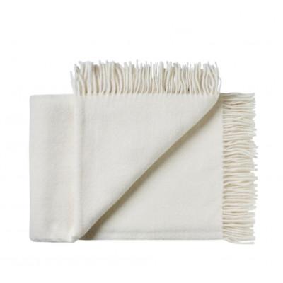 Plaid Samso | Weiß