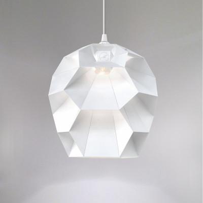 Beehive Lamp | Powder Coated White