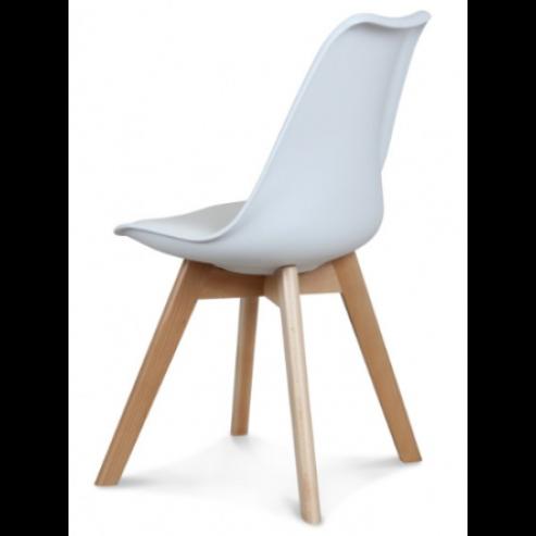 Stuhl Scandi   Weiß