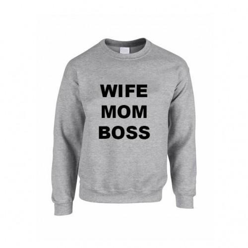 Pullover ♀ | Ehefrau, Mutter, Chef-S