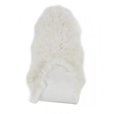 Set of 2 Icelandic Sheepskin Long | White