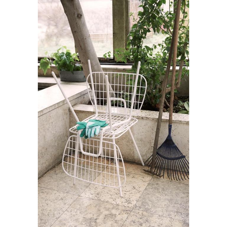 WM String Dining Chair | White