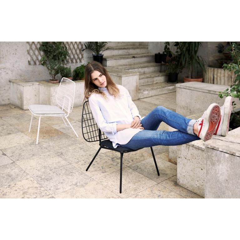 WM String Lounge Chair | White