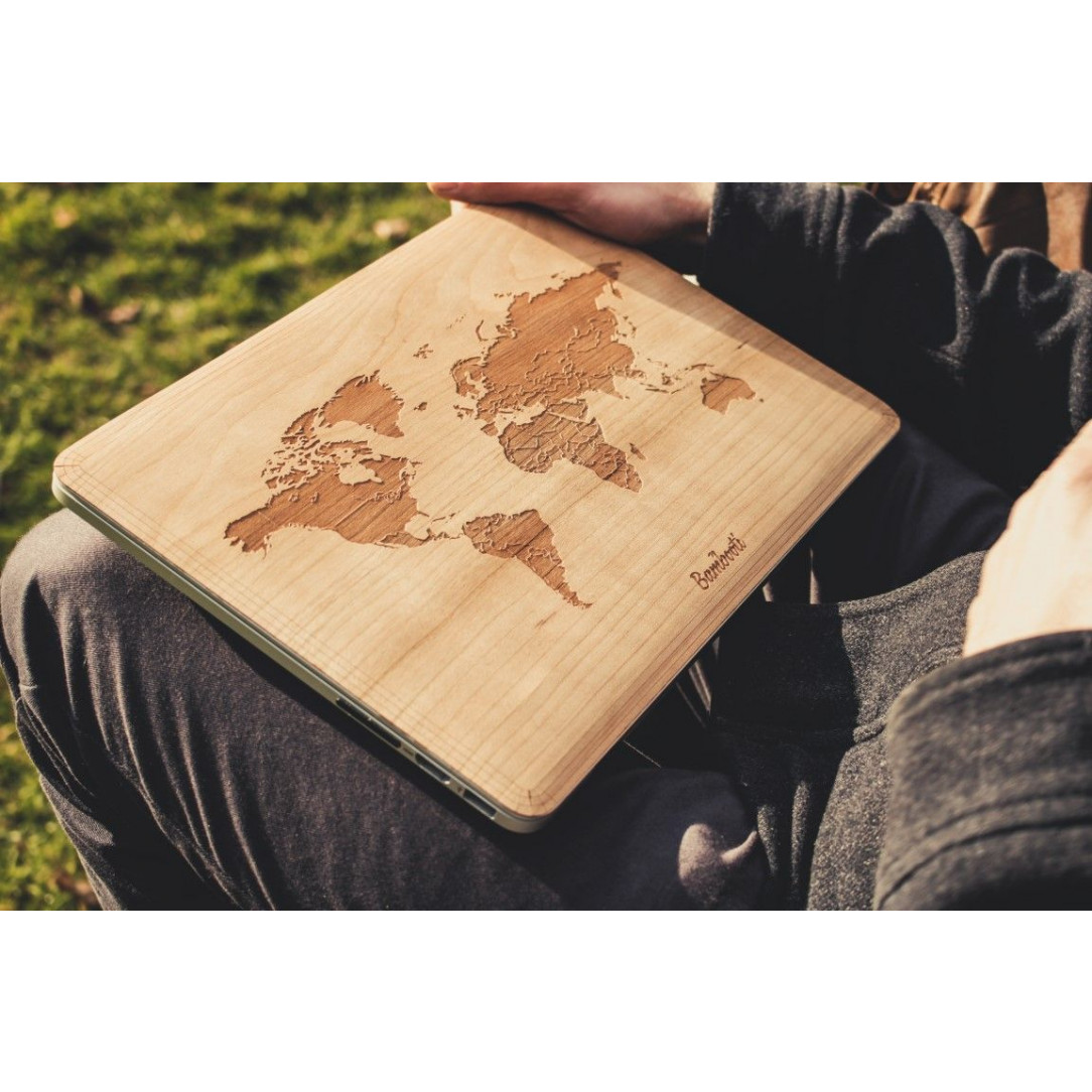 MacBook Cover | World Map