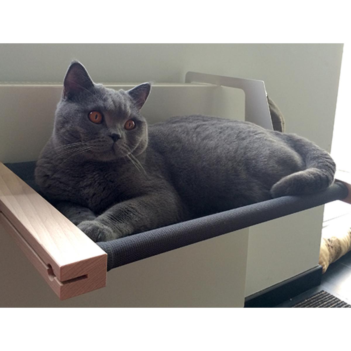 Katzenhängematte   Dunkelgrau