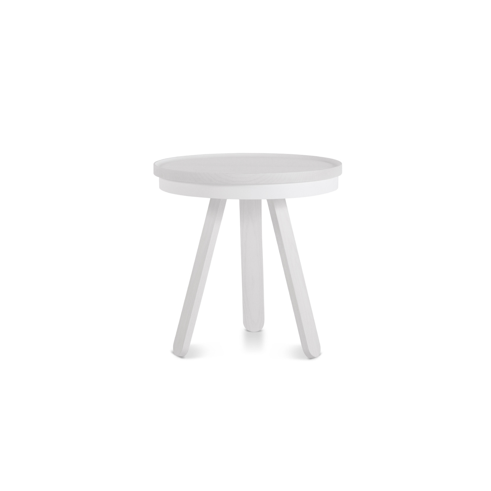 Coffee Table with Storage Space Batea Small   White