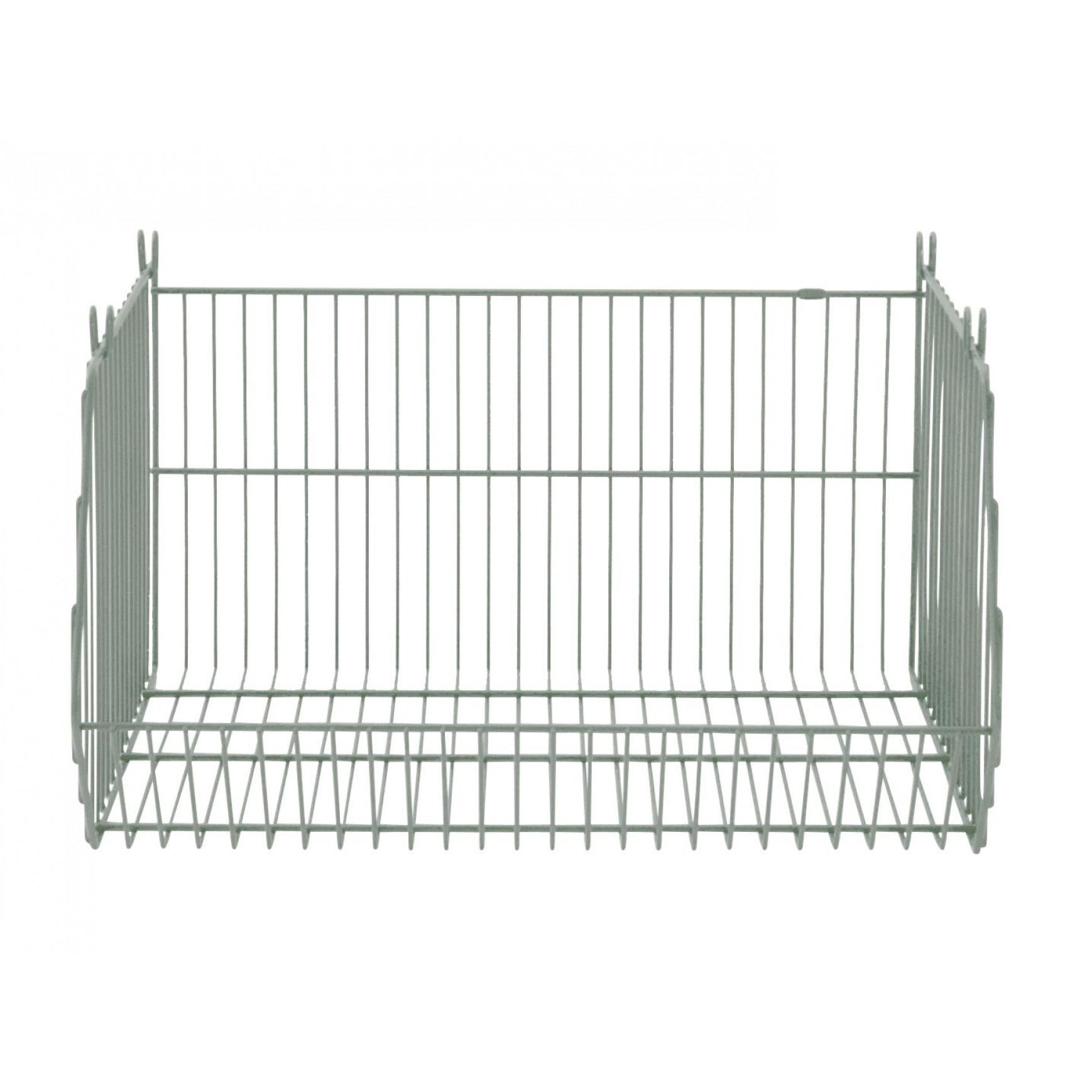 Stackable Storage Basket Living Basket | Grey