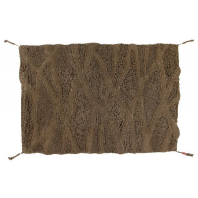 Wollteppich Afrika-Kollektion Shuka | Seashell