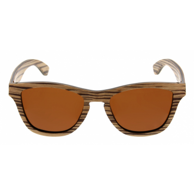Unisex-Sonnenbrille Wodan | Zebra