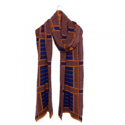 Knitted Scarf with Cashmere   Onarga