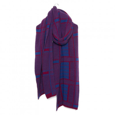 Knitted Scarf with Cashmere   Unna