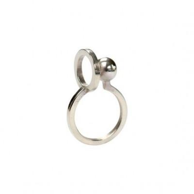 Gerahmter Ring #2 | Silber