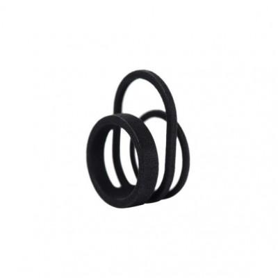 Gerahmter Ring #3 | Schwarz