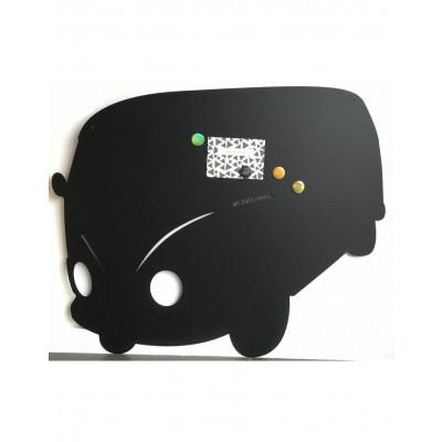 Magnetic Board   Camper Black Mat XL