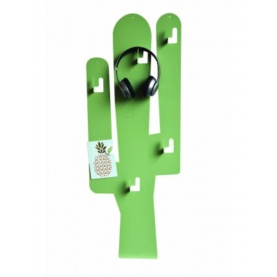 Magnetic Board   Cactus with Hooks Green L