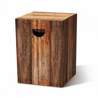Cardboard Stool | Wood
