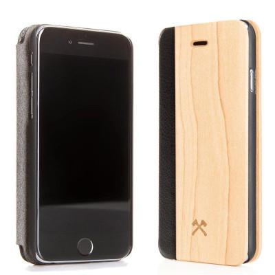 Hölzerne iPhone Klappdeckel | Ahorn