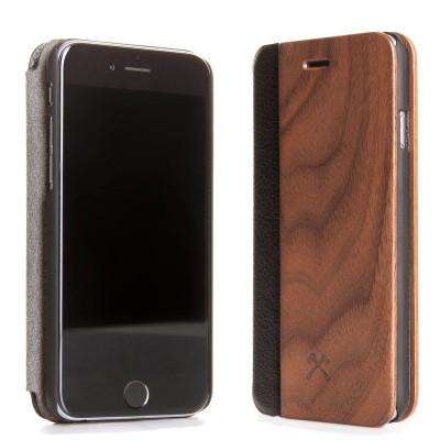 Hölzerne iPhone Klappdeckel | Walnuss
