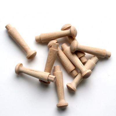 Holzstifte | 10er-Satz Pegboard Pegs