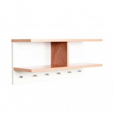 Hat Shelf with Coat Pegs Northgate